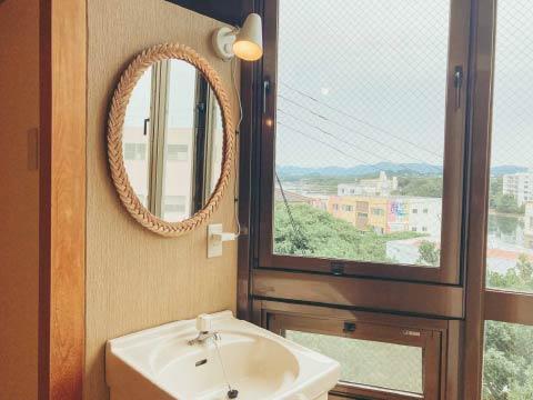 ホステルのアサ 客室インテリア